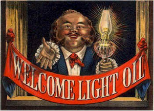 Welcome Light Oil Trade Card